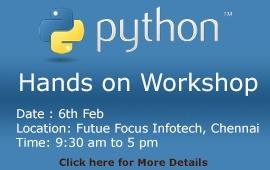 Future Focus Infotech Python Traning